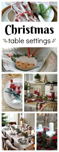 Christmas Table Setting Ideas - Town & Country Living