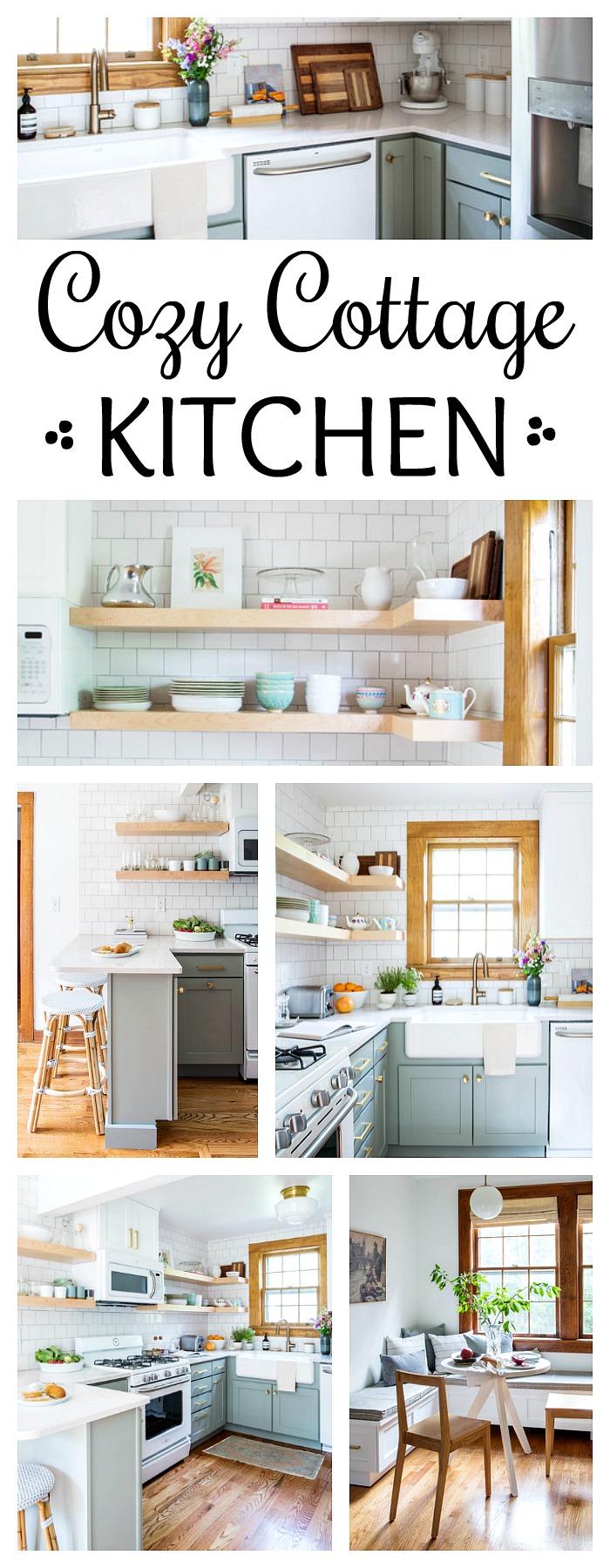 Cozy Cottage Kitchen