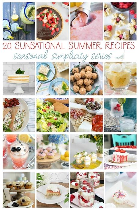 Summer Simplicity Recipe Hop