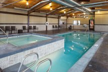Indoor Outdoor Pool Hotel Jackson Hole
