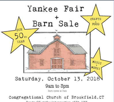 yankee fair and barn sale