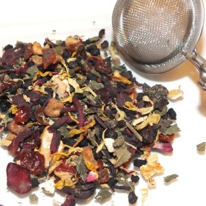 Town Coffee Corner - Organic Teas and Coffees - Double Berry Tisane