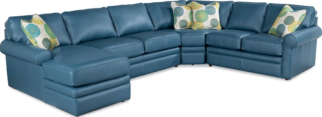 Collins Sectional Sofa  Town  Country Furniture