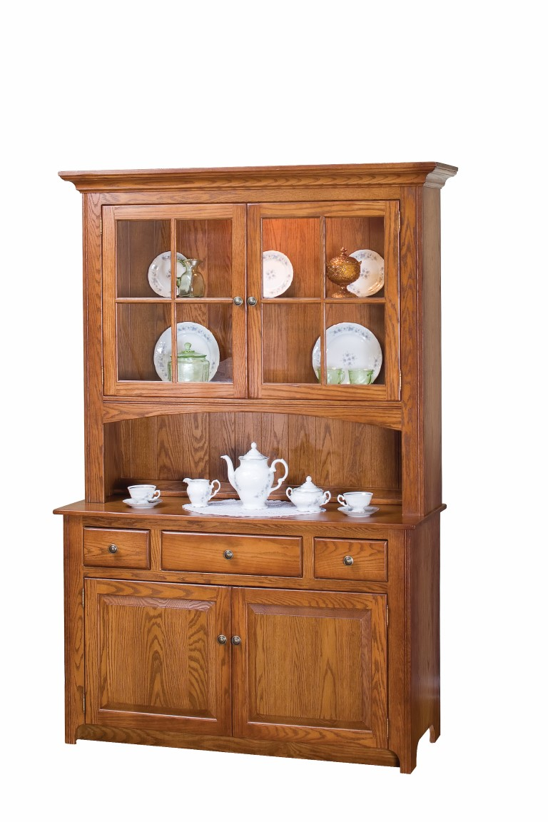 Shaker Two Door China Cabinet  Town  Country Furniture