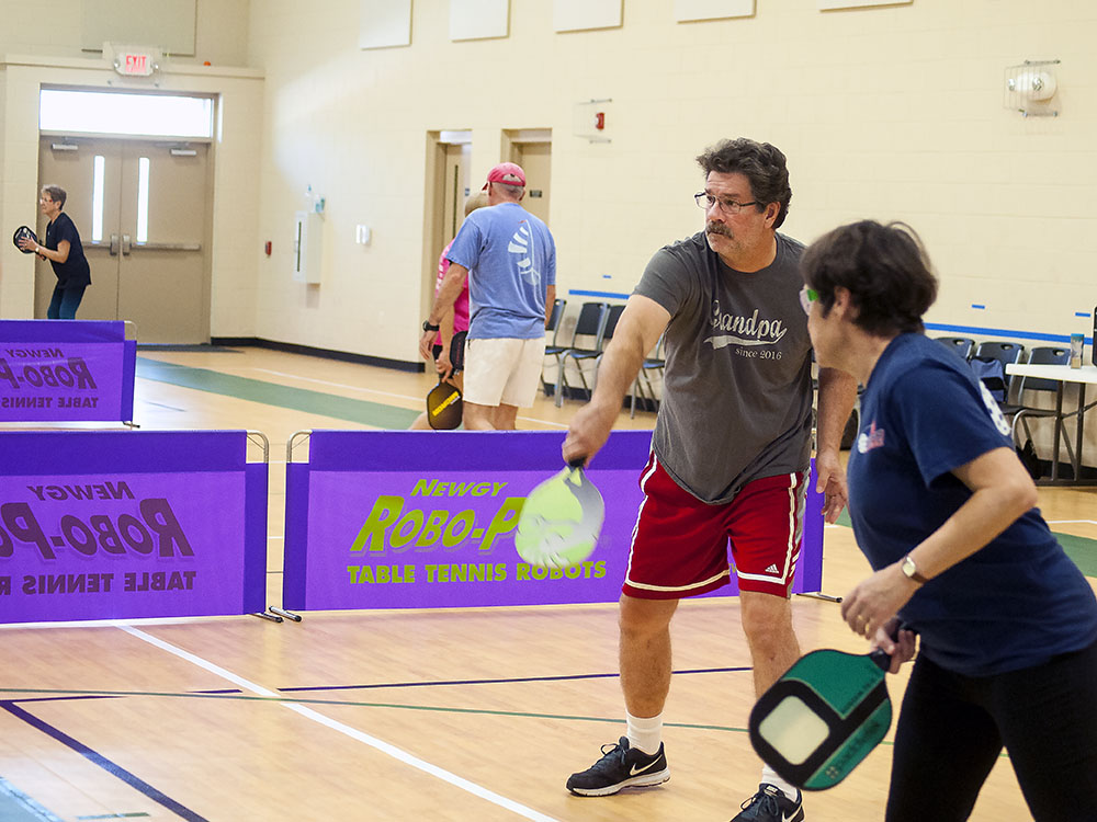 A Peck of Pamlico Pickleball Players