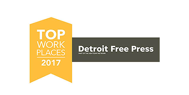 Orlans Receives Michigan 2017 Top Workplaces Award from Detroit Free Press