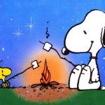snoopy-camping