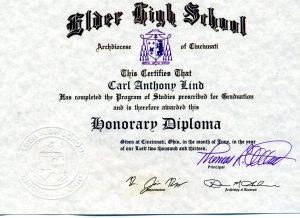 Honorary Diploma