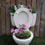 Toilet Bowl Planter