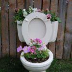 Toilet Bowl Planter