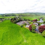 Aerial Footage of Aerial Image of Ribble Valley Care Home