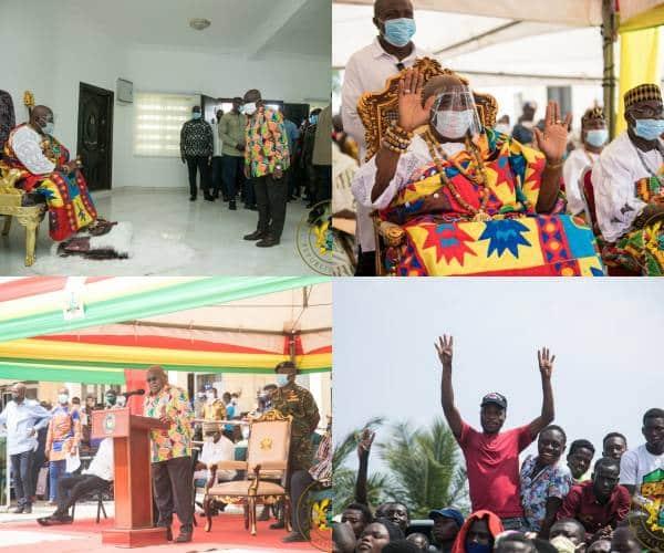 president Akufo-Addo visits Keta, Volta Region