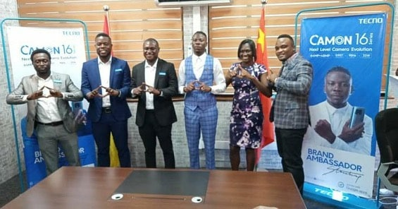 Techno Mobile Ghana signs Stonebwoy