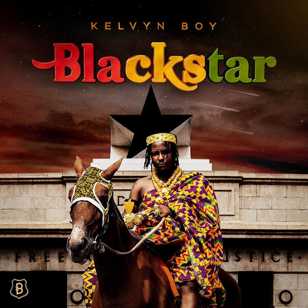Kelvyn Boy Black Star album artwork
