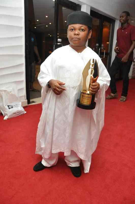 Osita Iheme 'Pawpaw' Receives Lifetime Achievement Award At AMA Awards