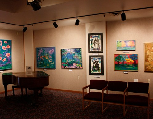 Exhibits at the Stanton Art Gallery