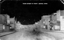 Bemidji,_MN_Postcard_1910s,_Third_Street_At_Night