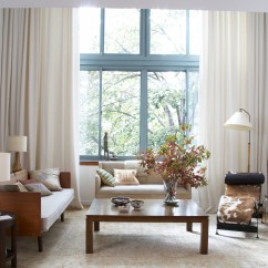 Long Living Room Curtains Pictures Of Small With Fireplace 4 That Will Keep Your Home Breezy Without Breaking Budget