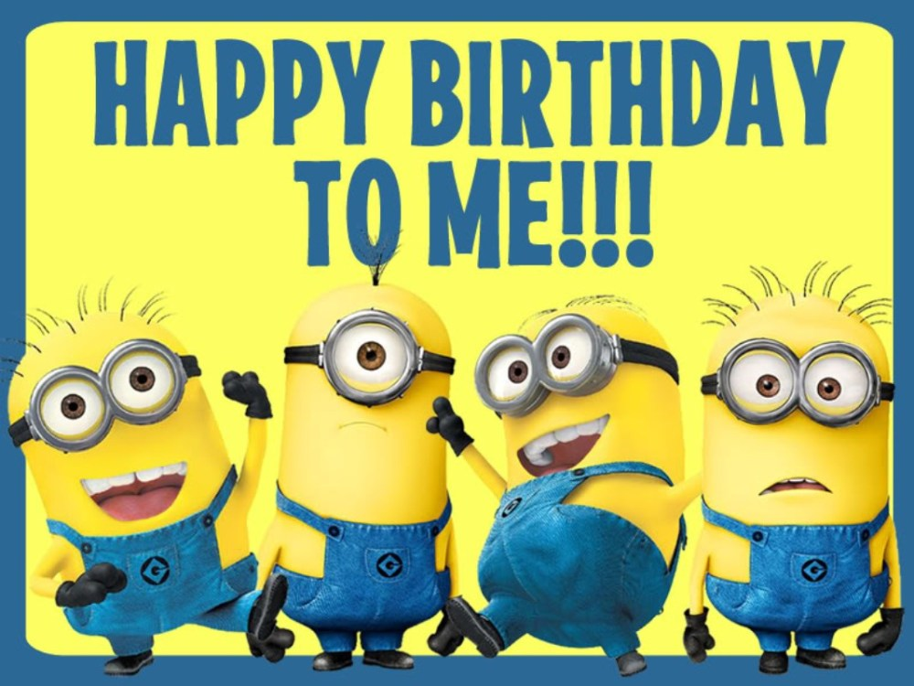 Oh MY GAWD.....It's My Birthday!! (2/2)
