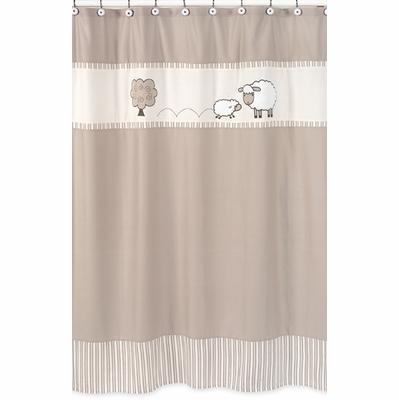Lamb Shower Curtain Townhouse Linens