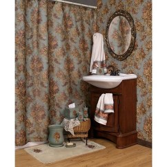 Country Chair Pads Wooden Frames For Upholstery Uk Rose By Kathy Ireland Shower Curtain And Bath Accessories - Townhouse Linens