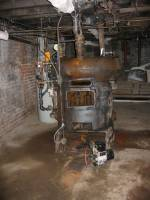 The old furnace. a classic. I wish I could have kept it ...