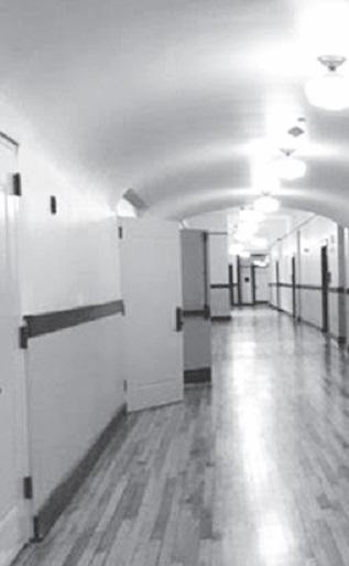 Cony High School flatiron building