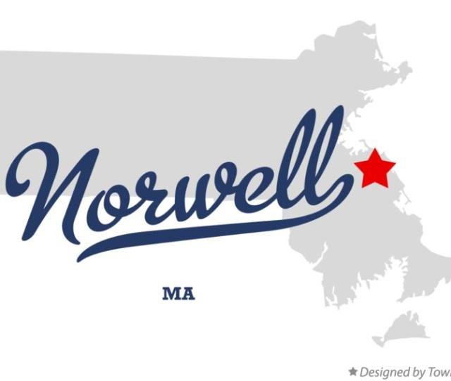 Map Of Norwell Massachusetts Ma