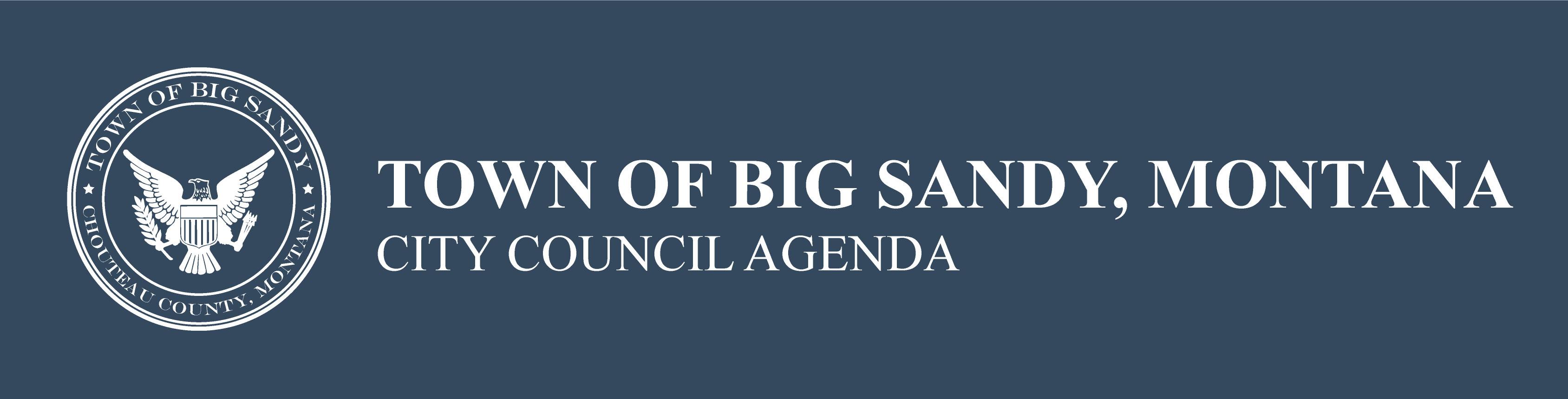 Town of Big Sandy, Montana City Council Agenda