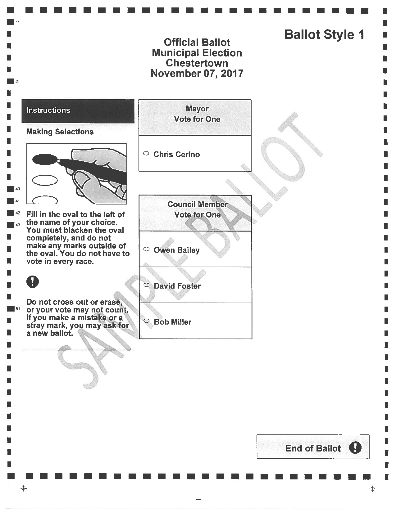 Town of Chestertown » Elections & Voting