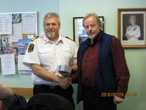Paul Schaefer 20 Yr. Service Award