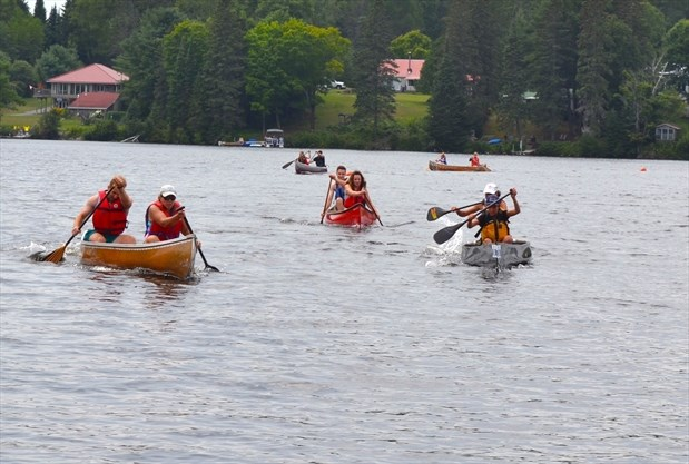 Regatta 2018 Canoe Races