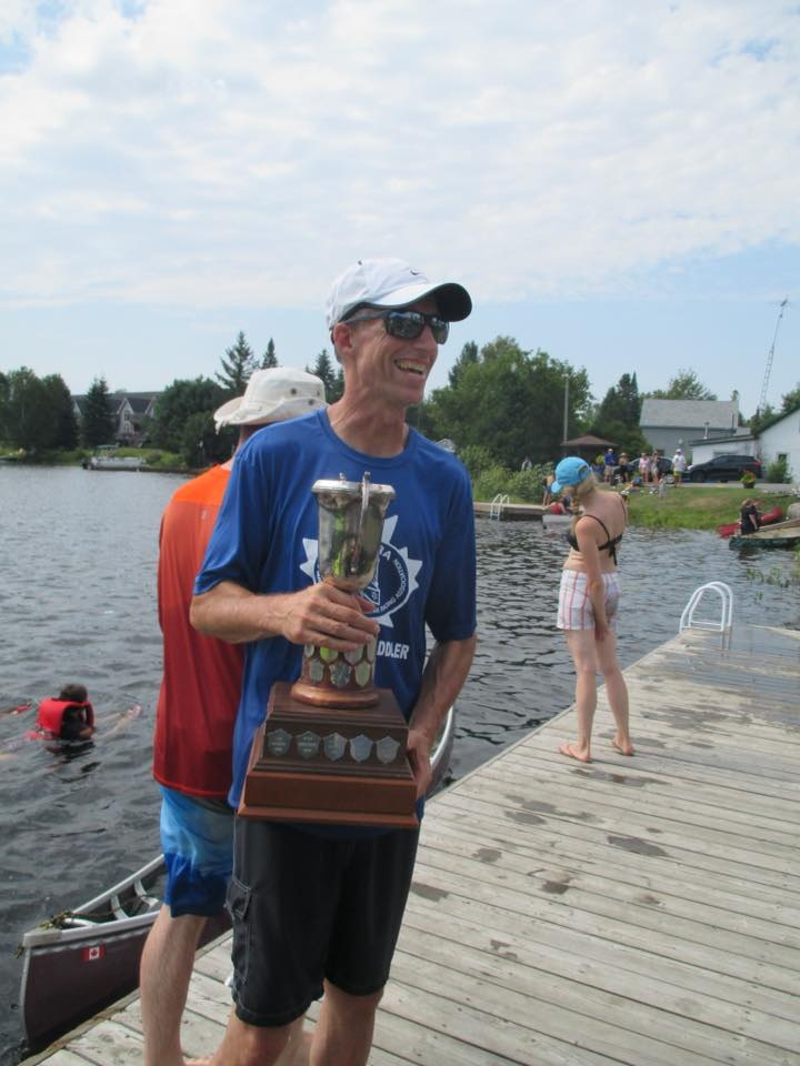 Regatta 2018 Fred Bice Memorial Cup Winner- Deal Coulson
