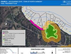 Herbicide Treatment Final Map Plan for North Harmony