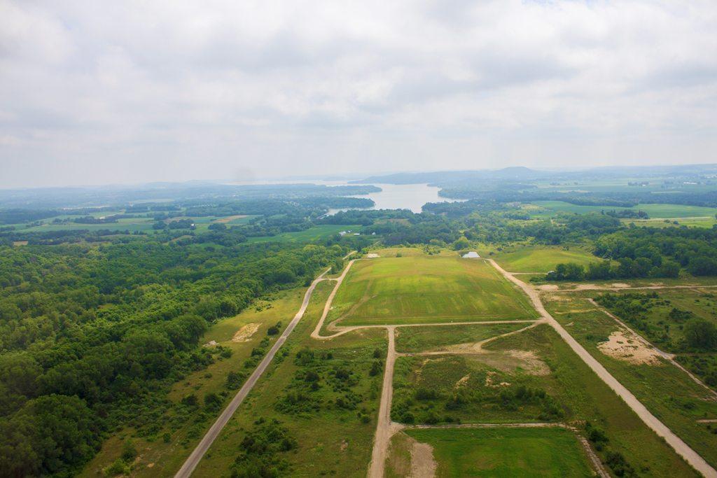 Aerial view - Town of Prairie du Sac