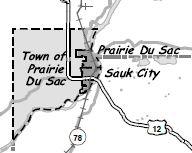 Town of Prairie Du Sac and villages