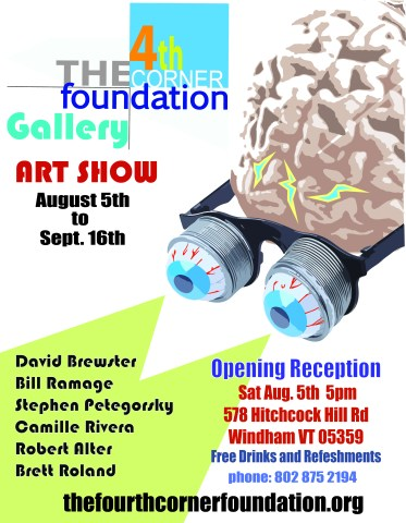 The 4th Corner foundation Gallery Art Show
