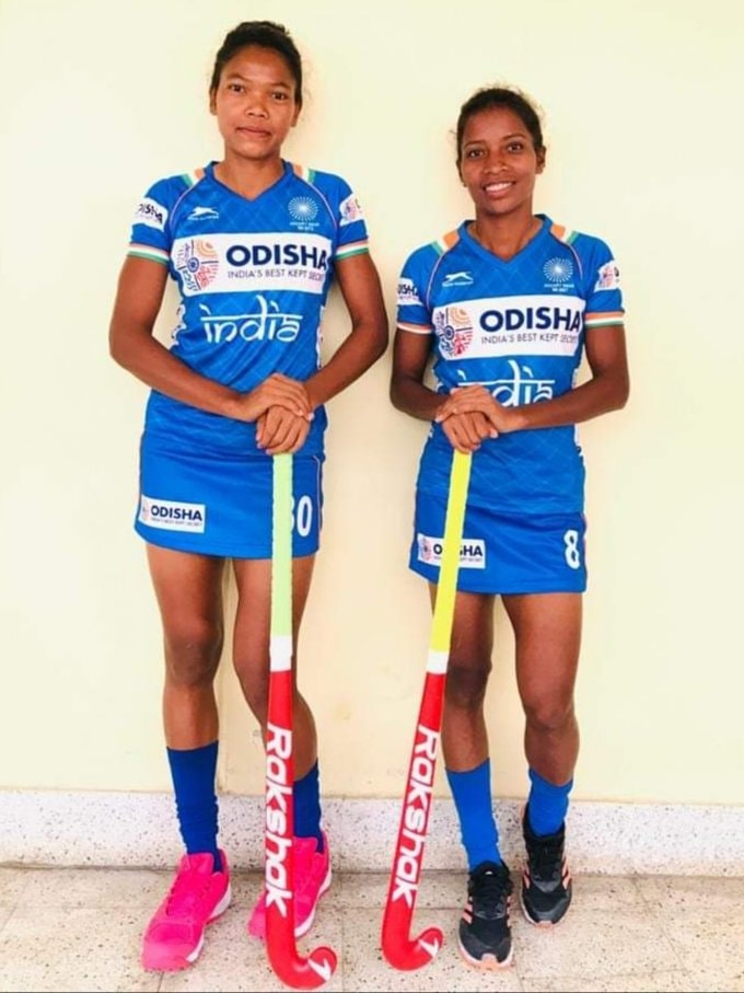 Salima Tete and Nikki Pradhan