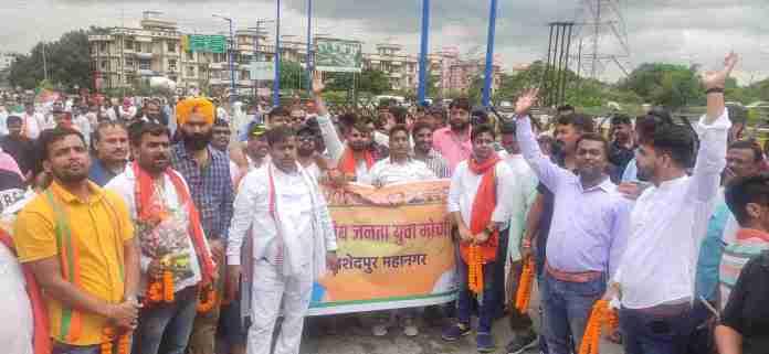 Babulal Marandi welcomed warmly