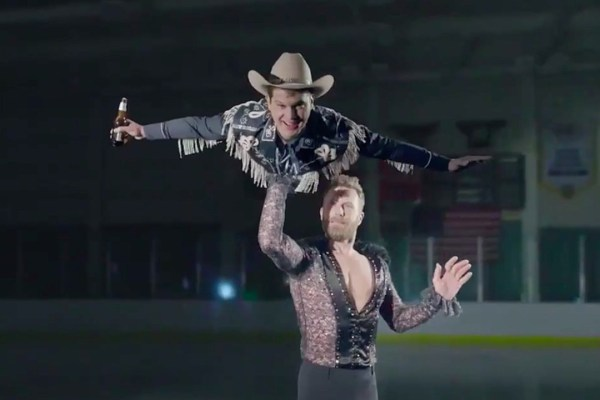 Dierks Bentleys Ice Skating With Jon Pardi Will Make Your Day