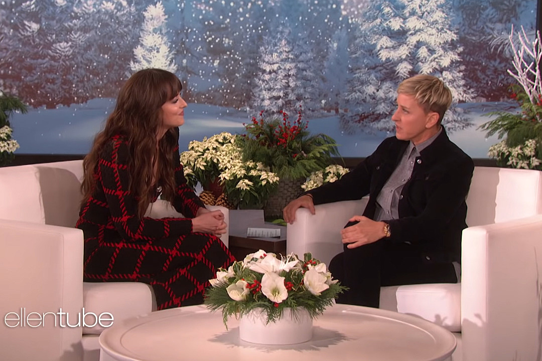 Dakota Johnson Confronts Ellen Degeneres For Missing Her