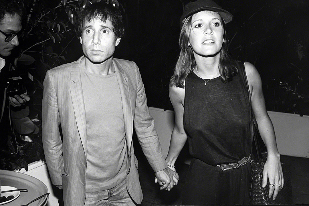 Image result for paul simon and carrie fisher