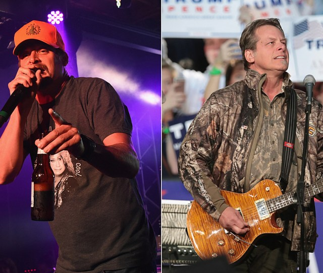 Kid Rock Ted Nugent Join Sarah Palin During President Trump White House Visit