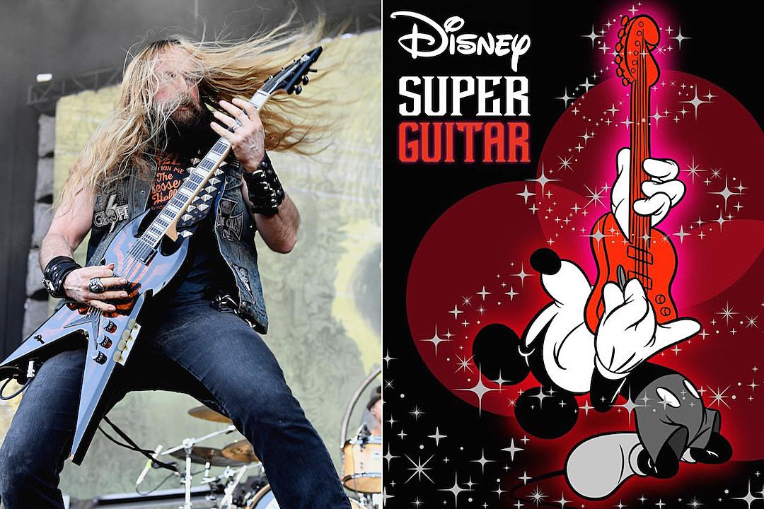 Zakk Wylde. Bumblefoot + More Star on 'Disney Super Guitar' Album