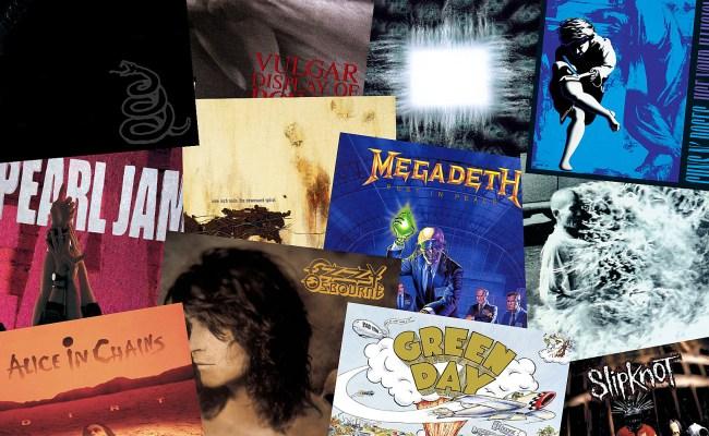 Top 90 Hard Rock Metal Albums Of The 90s - Cuitan Dokter