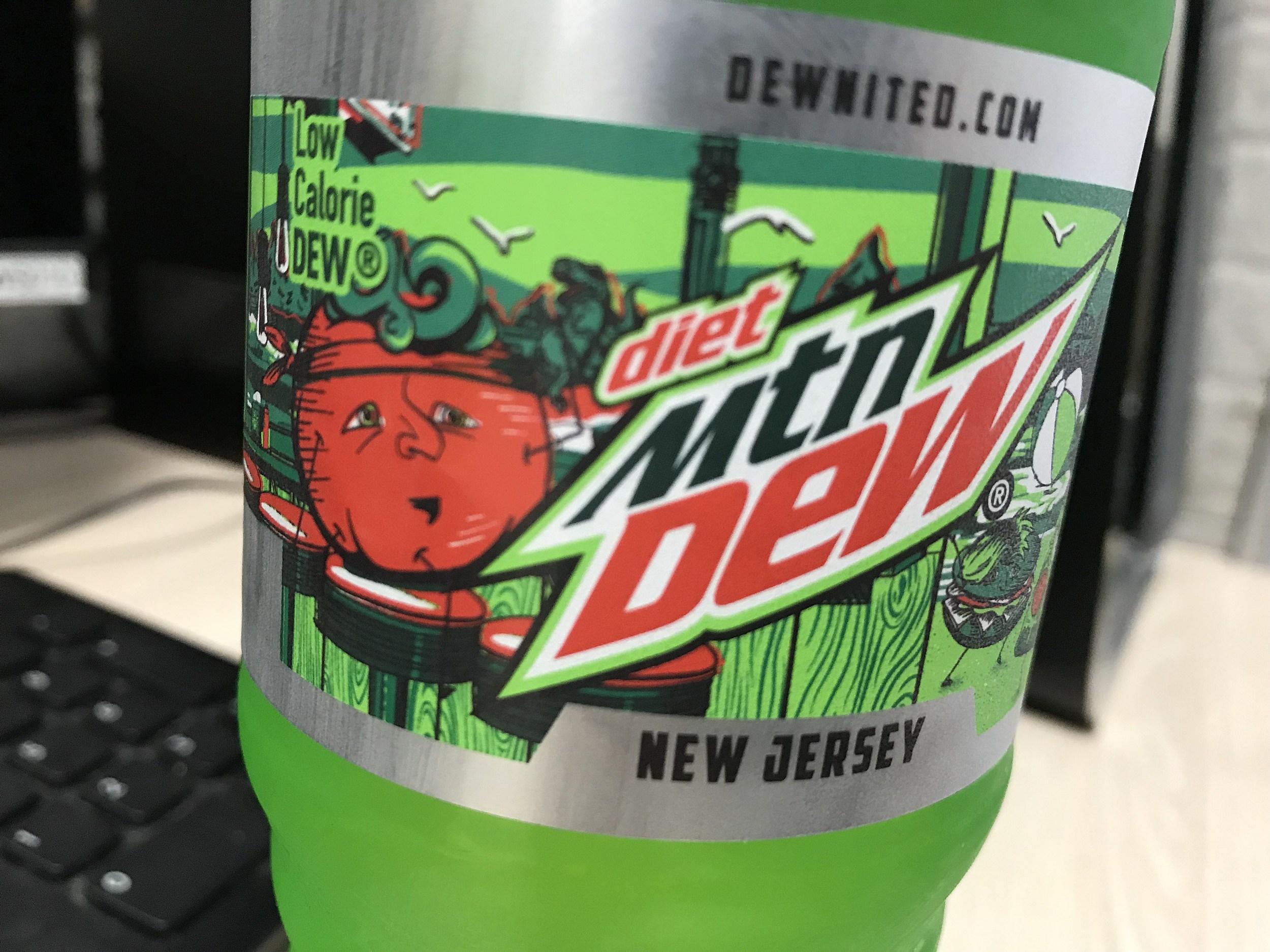 mtn dew soda honors