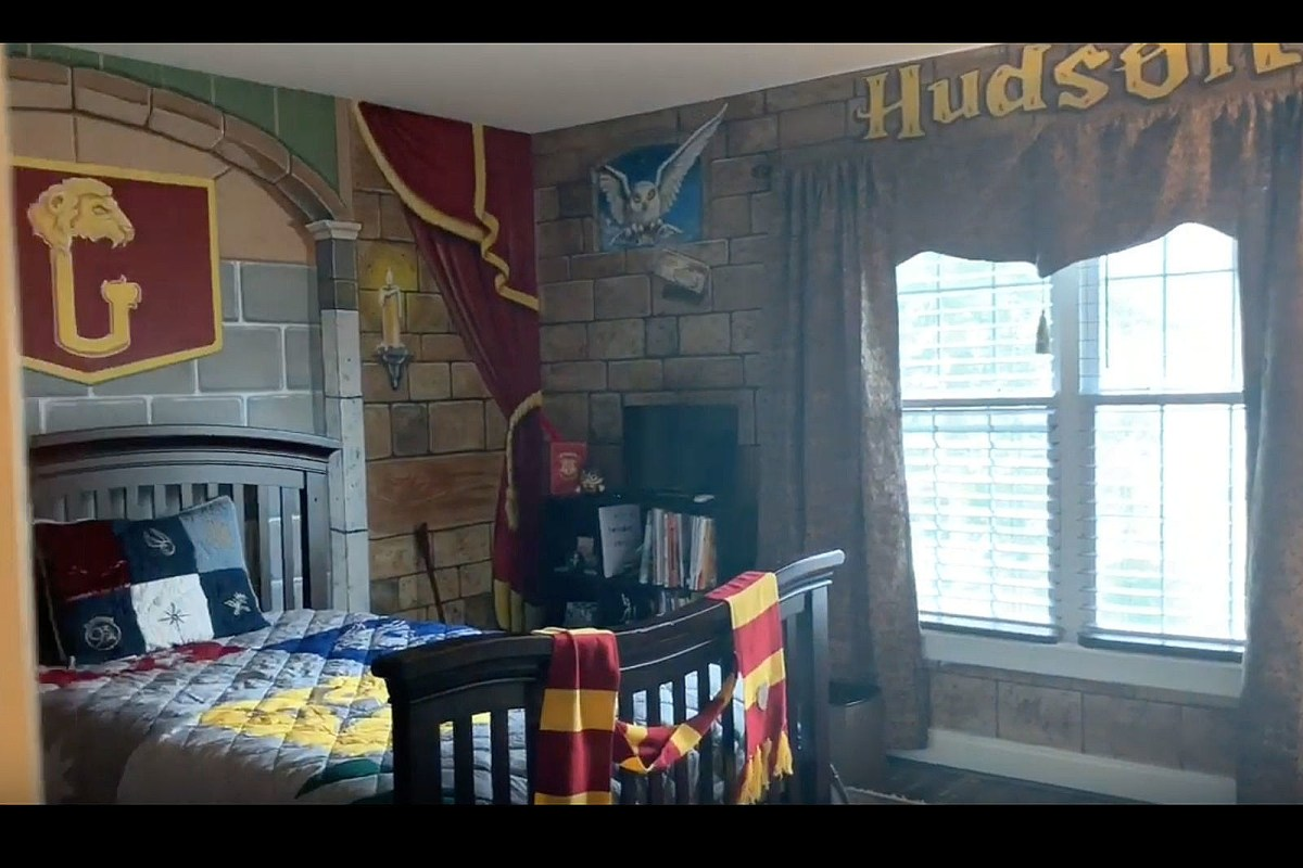 Charlie dean / getty images a bedroom should be a sanctuary—a place of quiet retreat amidst a busy day; See this lucky NJ kid's amazing Harry Potter inspired bedroom