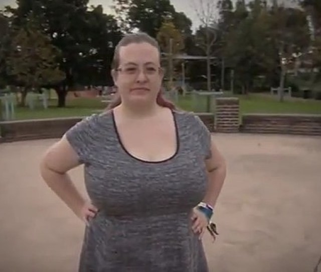 Australian Woman On Welfare Because Of Her Big Breasts Video