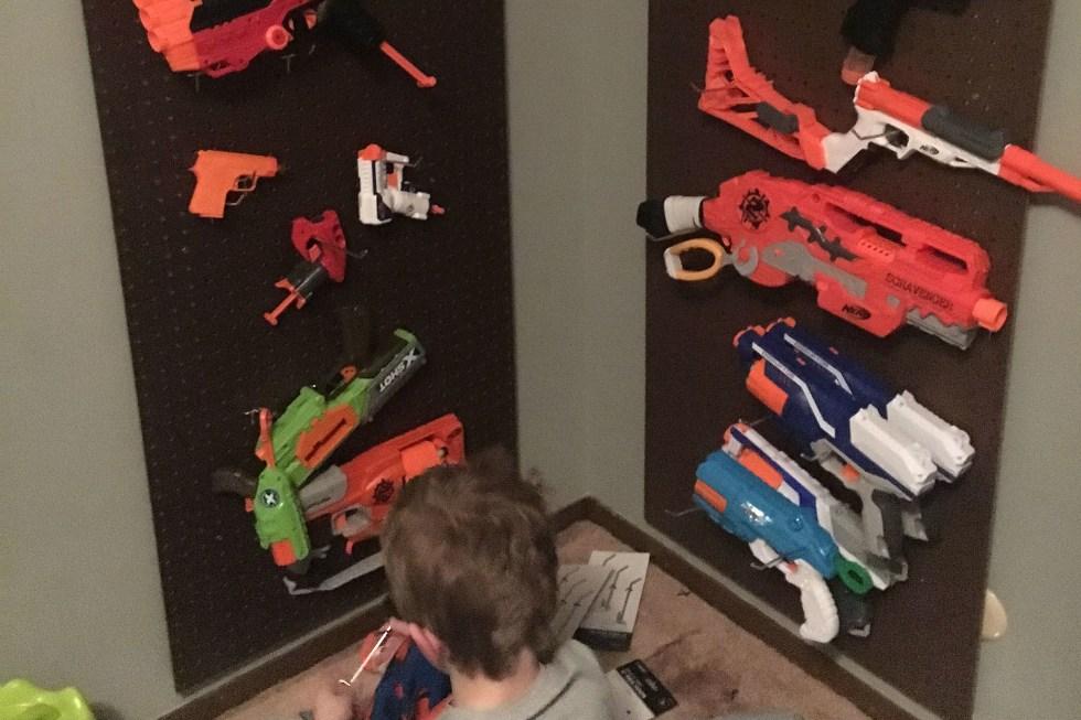 build a nerf gun