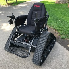 Action Track Chair High Back Gaming Amazing New Trackchair Arrives To Use In Rochester Parks